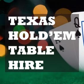 hire a poker table